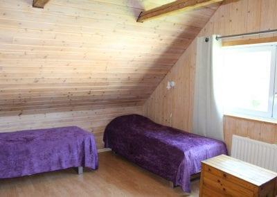 sovrum uppe rallahuset