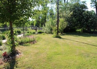 Spaträdgård