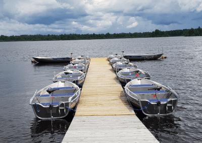 Båtbrygga Småland