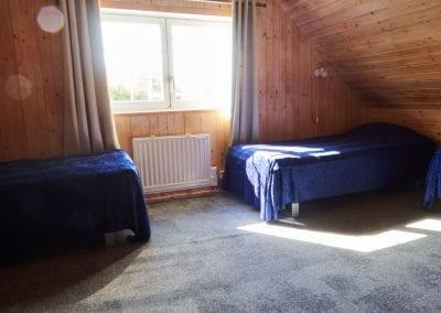 Schlafzimmer 2 im Obergeschoss 4 betten