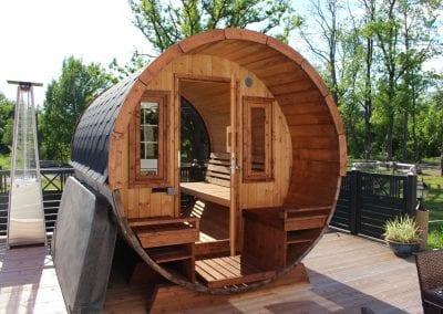 Spa-Veranda Sauna